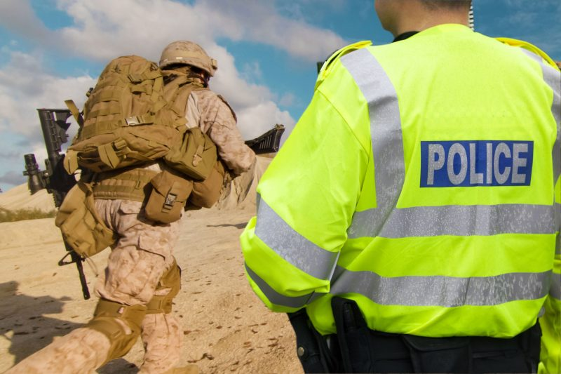 police and military support